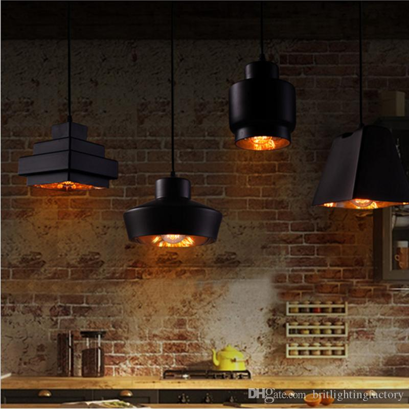 Acheter Rétro Lampe Suspendue Vitrail Pendentif Lampe Moderne ...