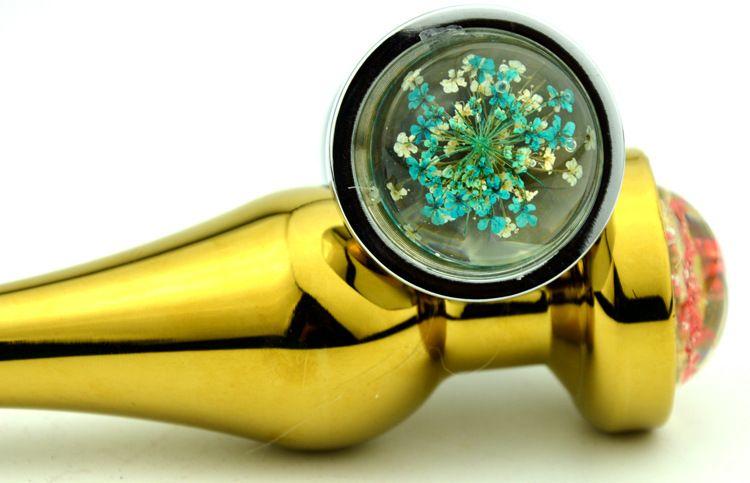 Metallo Plug anale Gioielli Big butt plug dildo Gioielli Large Medium Small Buttplug Insert Beads Jeweled Anale giocattolo del sesso uomini e donne