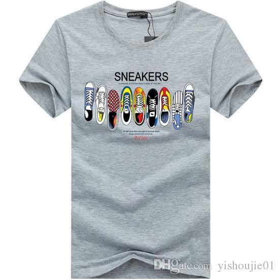 2017 여름 새 남성 패션 브랜드 반소매 티셔츠 남성 캐주얼 고품질 캐미셔날 티셔츠 탑스 XXXXXL