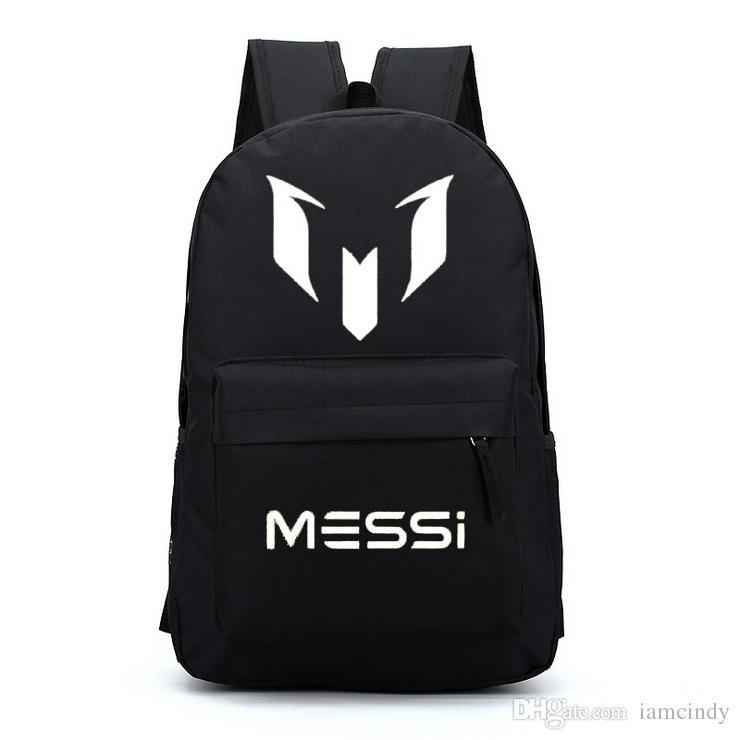 Free Gift Barcelona Messi Backpacks Waterproof Jansport Designer ...