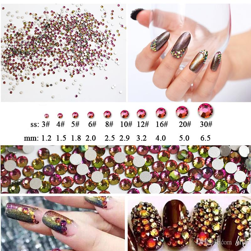 Beyond Better Best Rhinestones Ss3 Ss30 Size Rainbow Decorations For ...