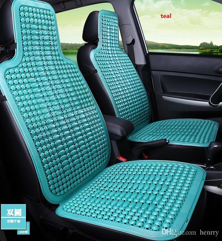 自動車の夏のクールなマットのプラスチックモデル通気性クッション共通梁の夏の本エッセンシャルフィットトラックvan Minibusの車の座席