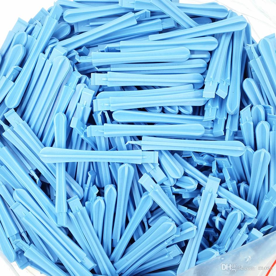 Wholesale 82mm ligth Blue Plastic Pry Tool Crowbar Opening Tools Spudger for iPhone 4 4s 5G 5S 6 6S i7 Cell phone Repair