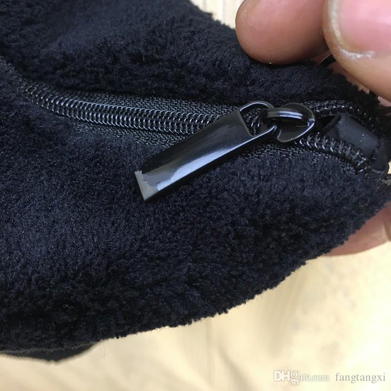 Venda quente! Moda Black Chain Maquiagem Bag Famosa Saco De Partido Flanela Saco De Ombro de Boa Qualidade Bolsa de Veludo