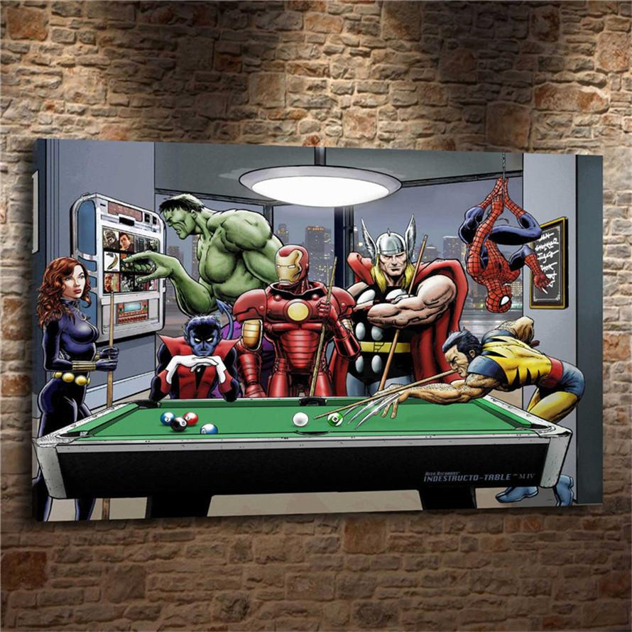 MARVEL AFTER HOURS,Home Decor HD Printed Modern Art Painting On Canvas  Unframed/Framed MARVEL AFTER HOURS Home Decor For Living Room Oil  Painting,HD Print ...