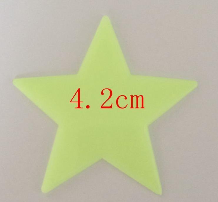 4kg Glow W Dark Star Moon Multi Rozmiar PP Kształt Materiał Dla Baby Przedszkole Wall Sypialnia Świecące Świecące Darmowa Wysyłka