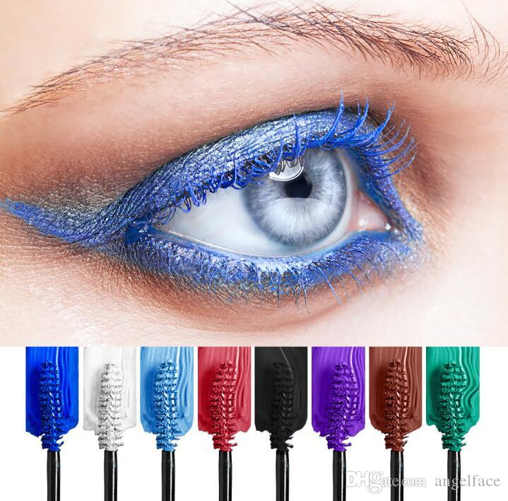 78b67cff708 Professional Eye Mascara Makeup Waterproof Easy Remove Punk Blue Purple  Lengthen Curling Eyelashes Color Colorful Mascara Buy Makeup Online Cheap  Makeup Uk ...