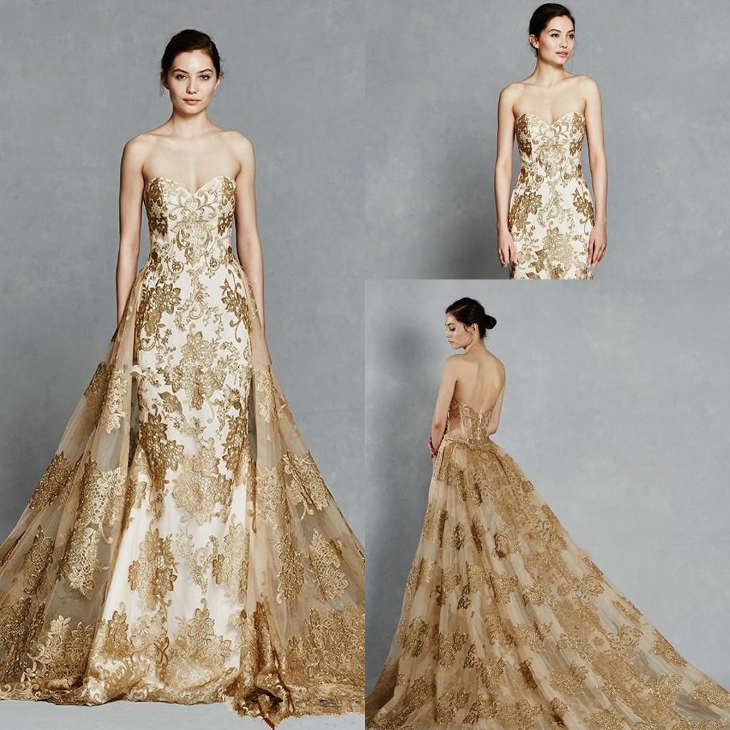 gold mermaid wedding dress wwwpixsharkcom images
