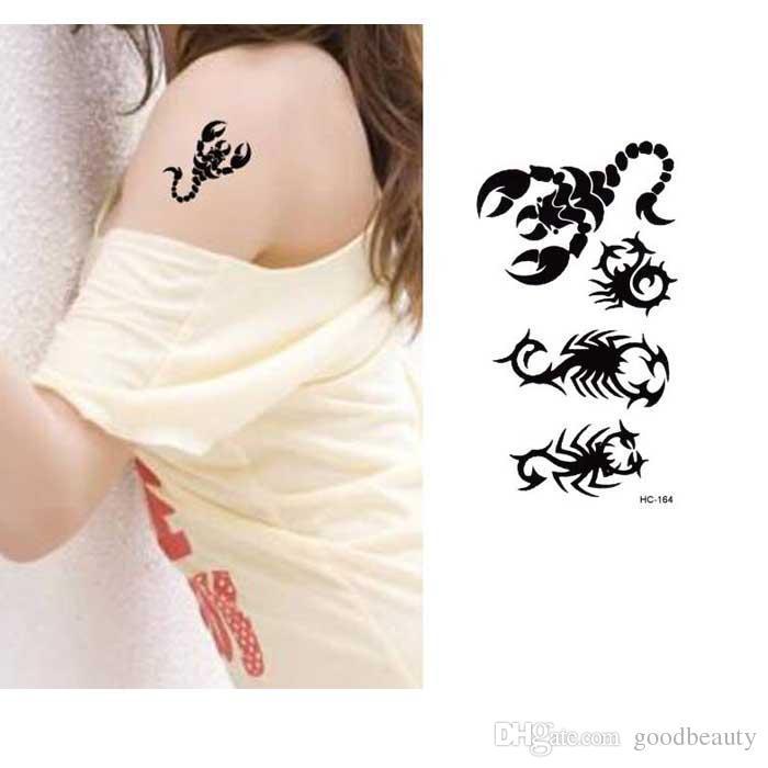 Pour Tatouage Tatouages Poitrine Scorpion Conception Flash Sexy Étanche Temporaire Autocollants Bracelets Femmes Poignet Garçons Faux XOk0PN8wZn