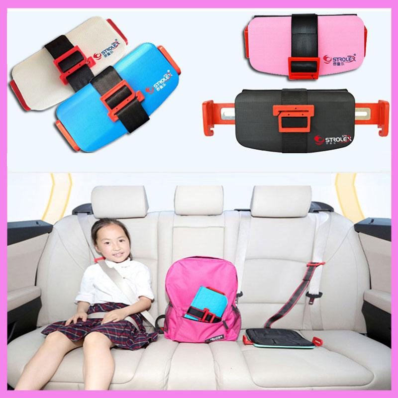 Strolex Mini Folding Baby Kids Child Car Safety Seats Portable Travel Pocket Booster Cushion Stroller Safety Harness Seat