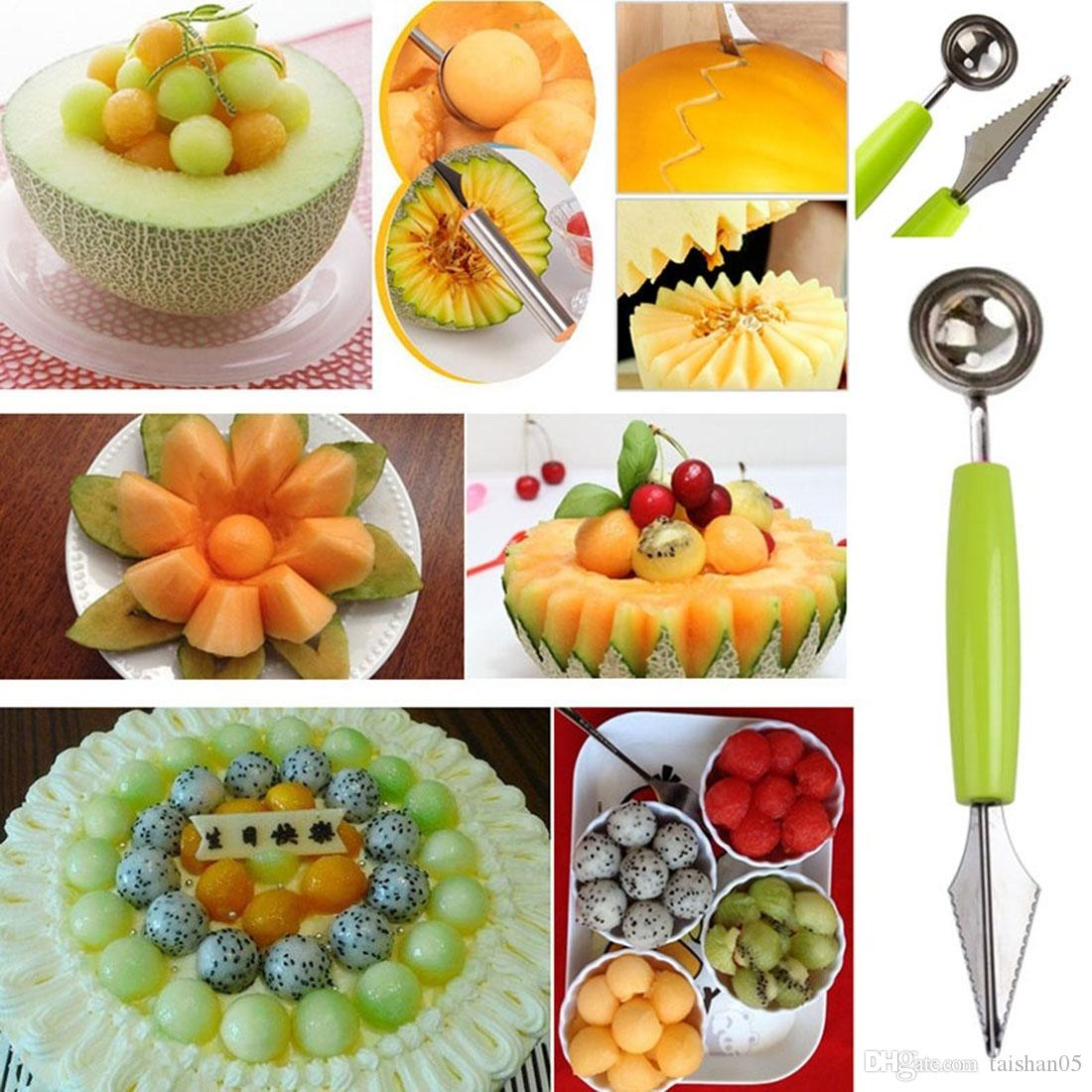 Online cheap creative fruit carving knife watermelon