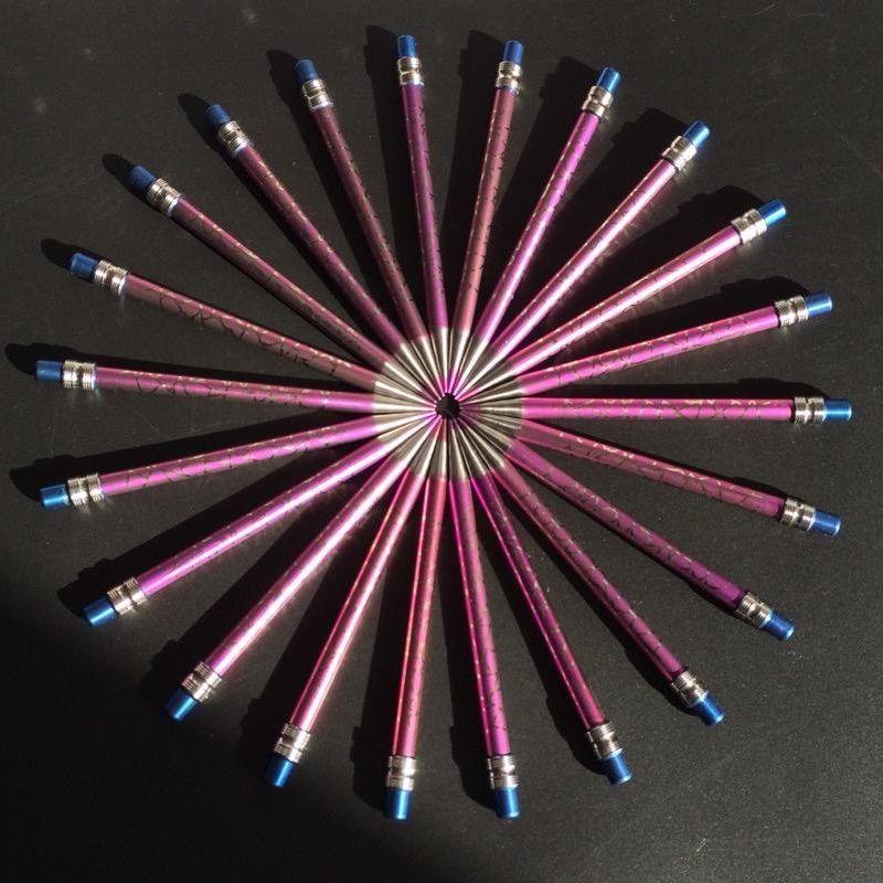110mm Länge GR2 Titan Anode Buntstift Wachs Dabber Werkzeug Für Tabak Glas Bong Wasserleitung
