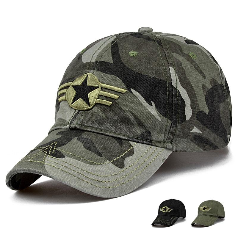 41086d1f5b8 Fashion New Outdoor Camo Baseball Hats Men Casual Top Quality Peaked Caps 55 -59cm Men Caps Casual Baseball Cap Cap Online with  15.72 Piece on  Laozhao8481 s ...