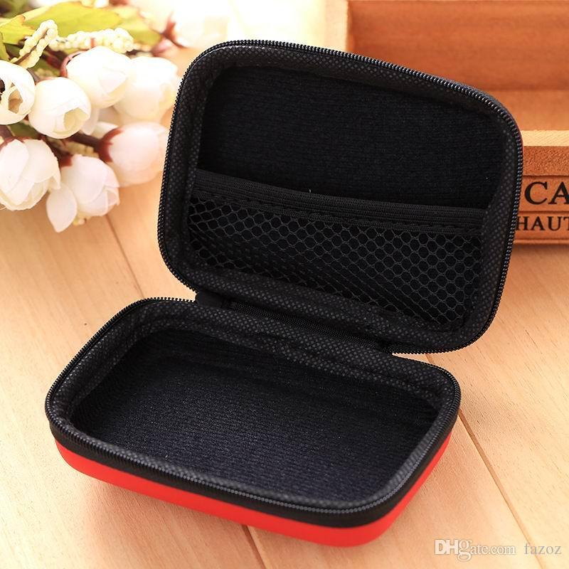 Наушники аксессуары мини Ева прямоугольник сумка для хранения карты ключ деньги монета жесткий Box цифровой организатор сумка USB зарядное устройство кабель небольшой чехол