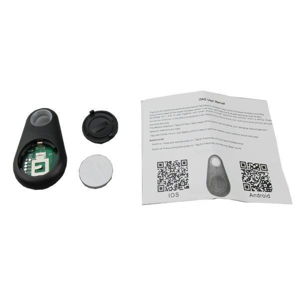 ホットスマートBluetooth 4.0トレーサーロケータータグアラーム財布キーペット犬猫子供トラッカーの高品質高品質の小売箱OM-CH3