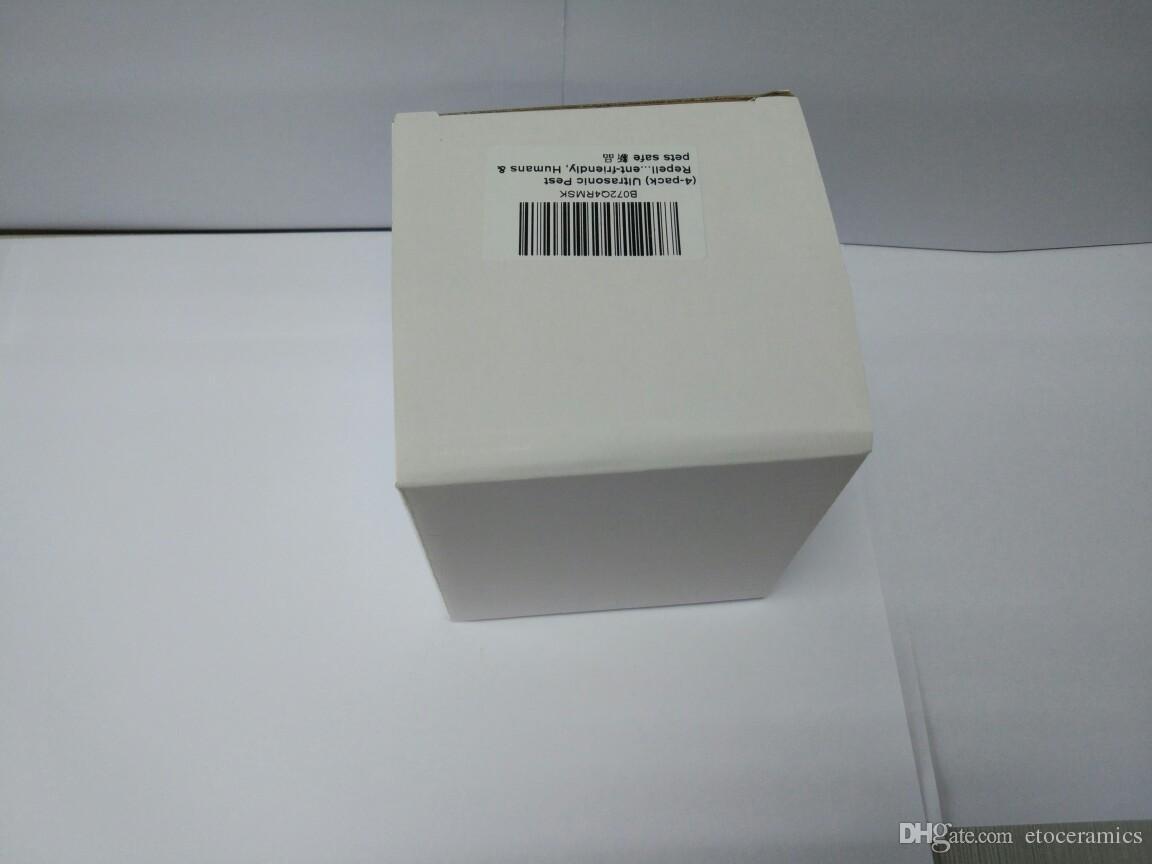 Repeller Pest Control Repeller ultrasonico repellente plug-in insetto bianco
