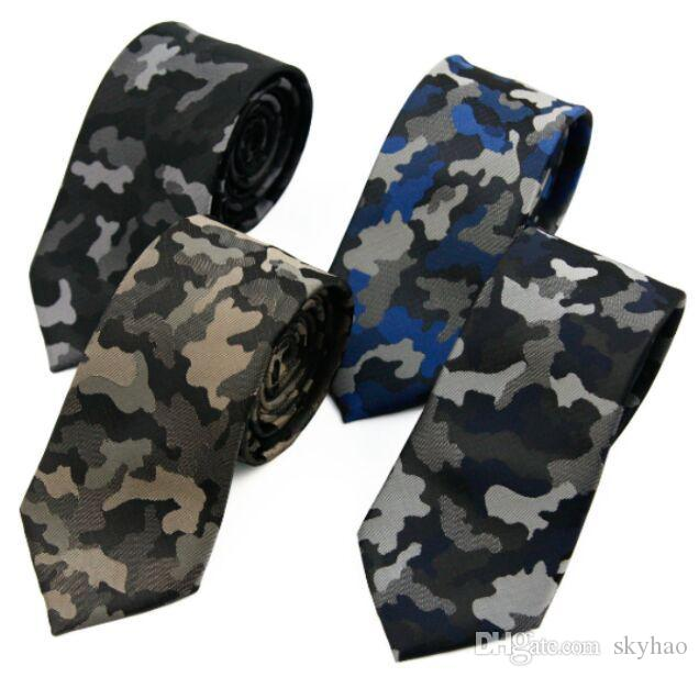 Camouflage Neck Tie 6cm Soldier Polyester Necktie For Men\'s Father\'s ...