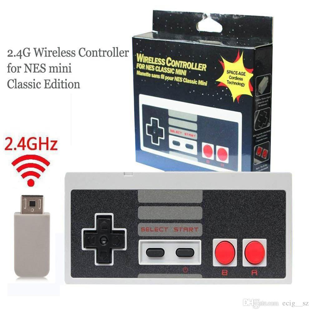 Wireless Gamepad for Mini NES Plug And Play Gaming Controller for ... 549ca6fca