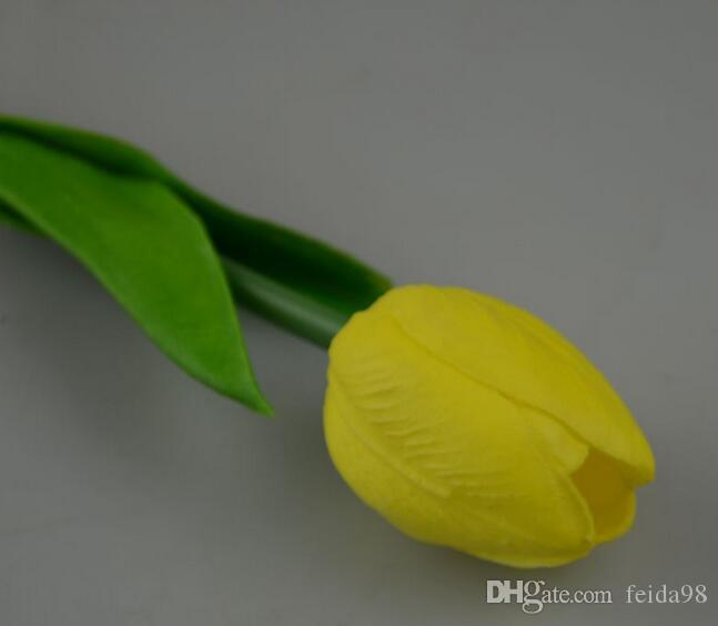Free shiipping artificial flower home decoration flower dried flowers tulip simulation flower G10