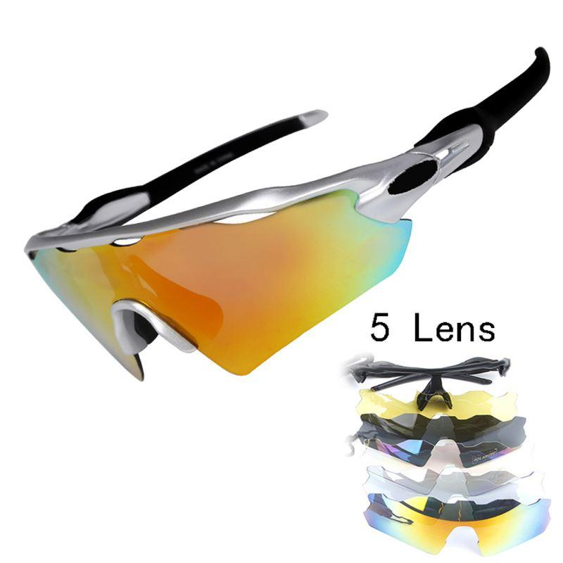 8a359dd97a 2019 5 Lens UV400 Mens Polarized Cycling Sun Glasses Sports Bicycle Glasses  2016 MTB Mountain Bike Sunglasses Cycling Eyewear From Outlet shop1