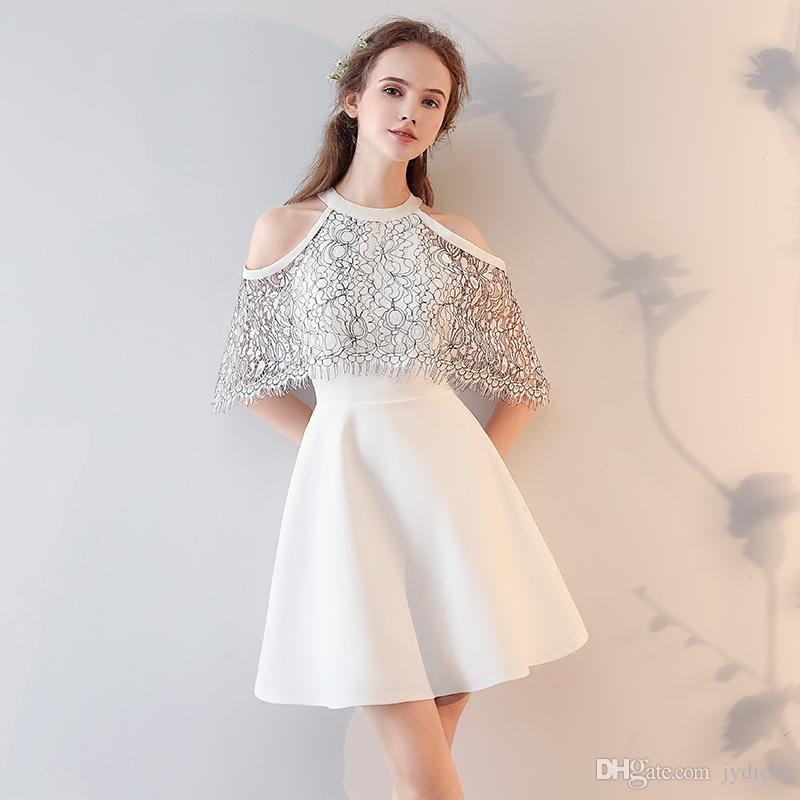 Fashion 2017 Summer New Cocktail Dress The Bride Short
