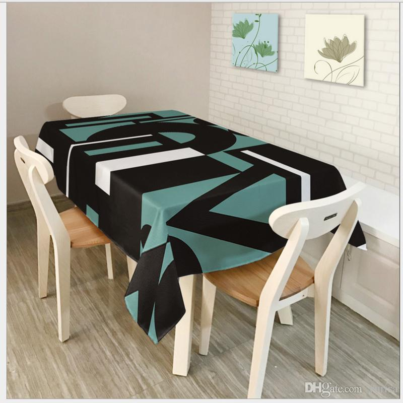 Toalha De Mesa Nappe Rectangulaire Round Tablecloth Table ...