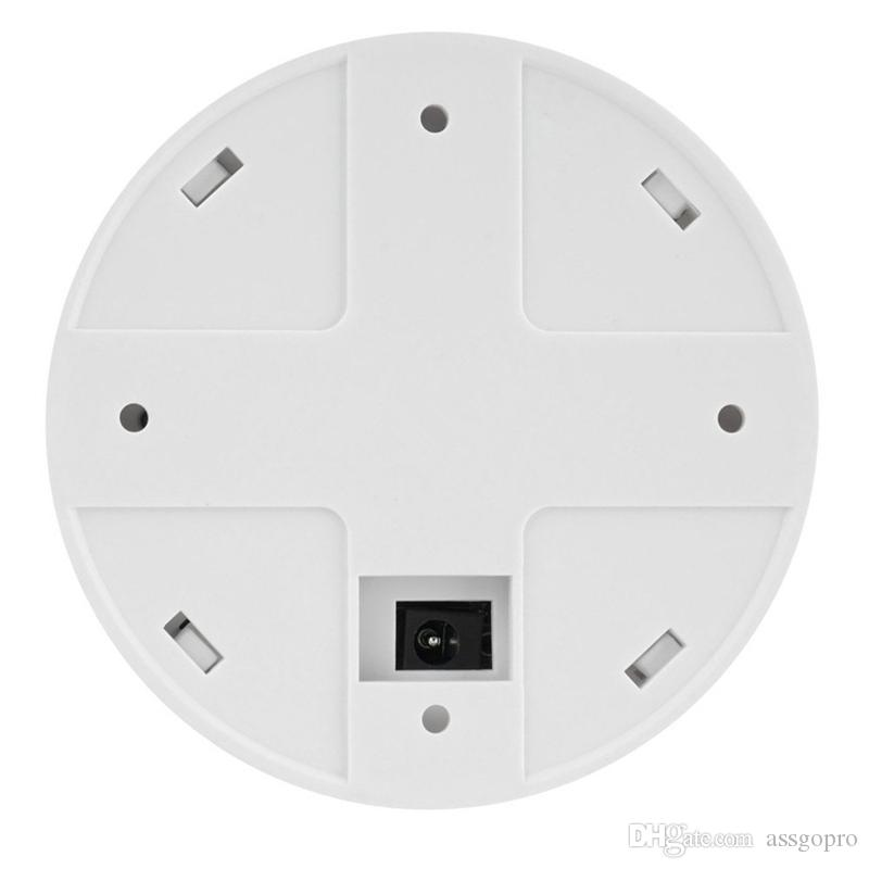 8GB 1920x1080P HD Wifi Network Camera Smoke Detector Security DVR Motion Detective Camera Support iPhone Android APP Remote View Loop Record