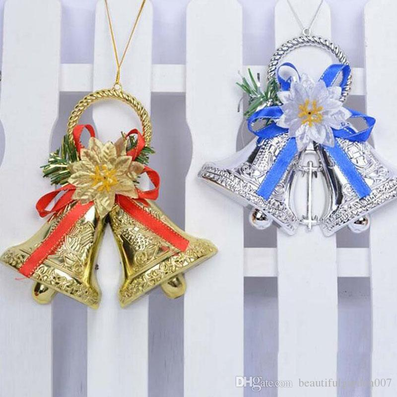 2017 Creative Plastic 15cm Pendant Drop Bells Ornaments