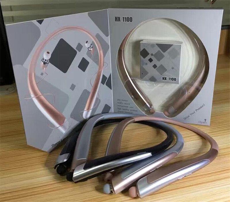 Hbs1100 тон Platunum HBS - 1100 беспроводной воротник гарнитуры поддержка NFC Bluetooth 4.1 HIFI Спорт Hands-free наушники