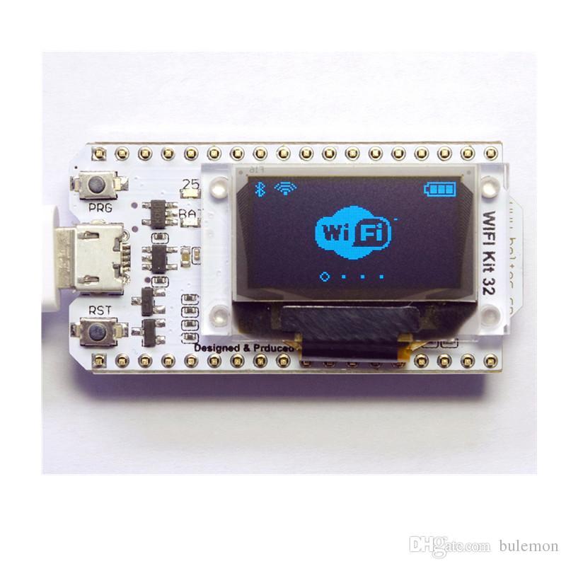 ESP32 Bluetooth WIFI Kit Blue OLED 0 96 inch Display Module CP2102 32M  Flash 3 3V-7V Internet Development Board for Arduino