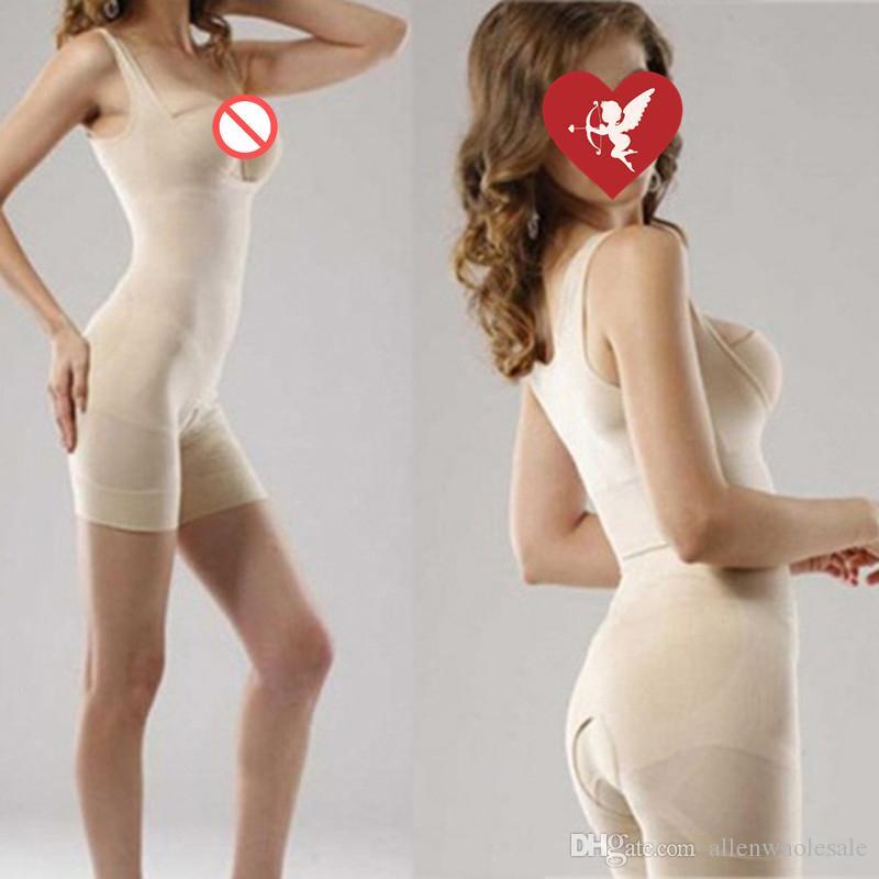100 stks / partij onzichtbare vrouwen Natural Magic Bamboo Slimming Shaper OPP-tas