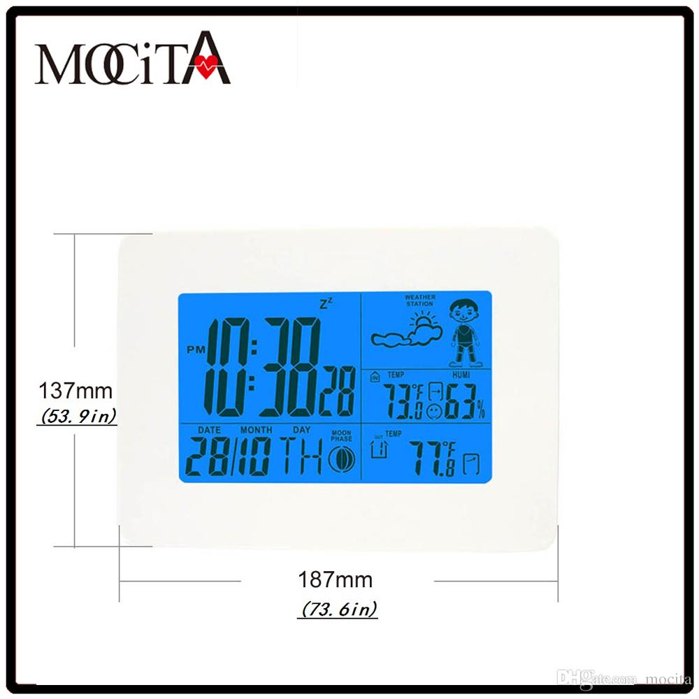2018 Mocita Wireless Weather Station Outdoor Electronic ...