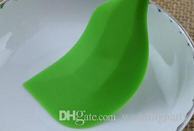 Großhandel Kuchen Butter Creme Spachtel Öl Brotschaber Pinsel Silikon Werkzeug, 300 teile / los