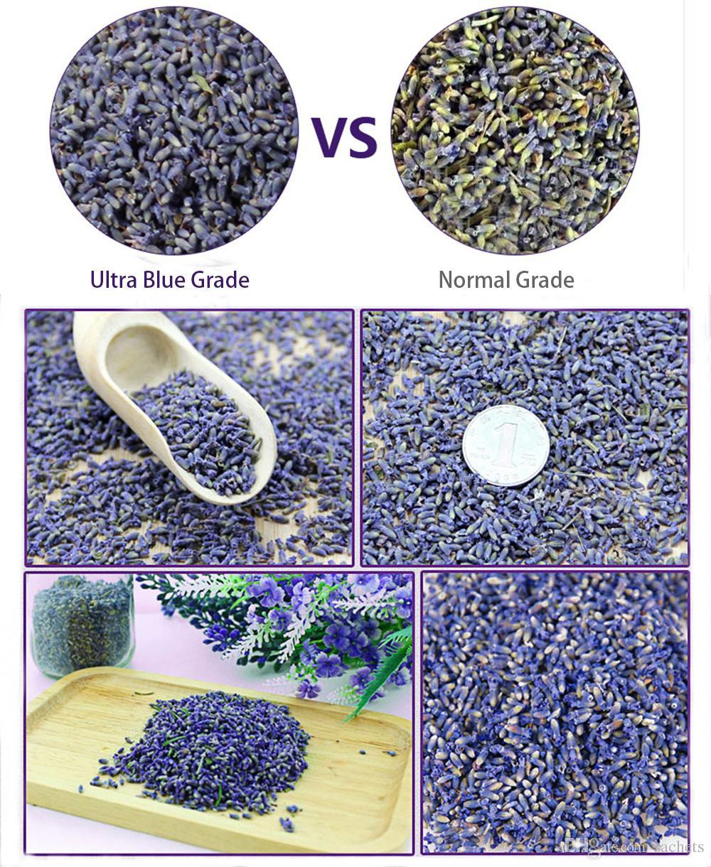 الزهور المجففة عبق الخزامى البراعم العضوية بالجملة، الترا الأزرق العلمية - 1 جنيه