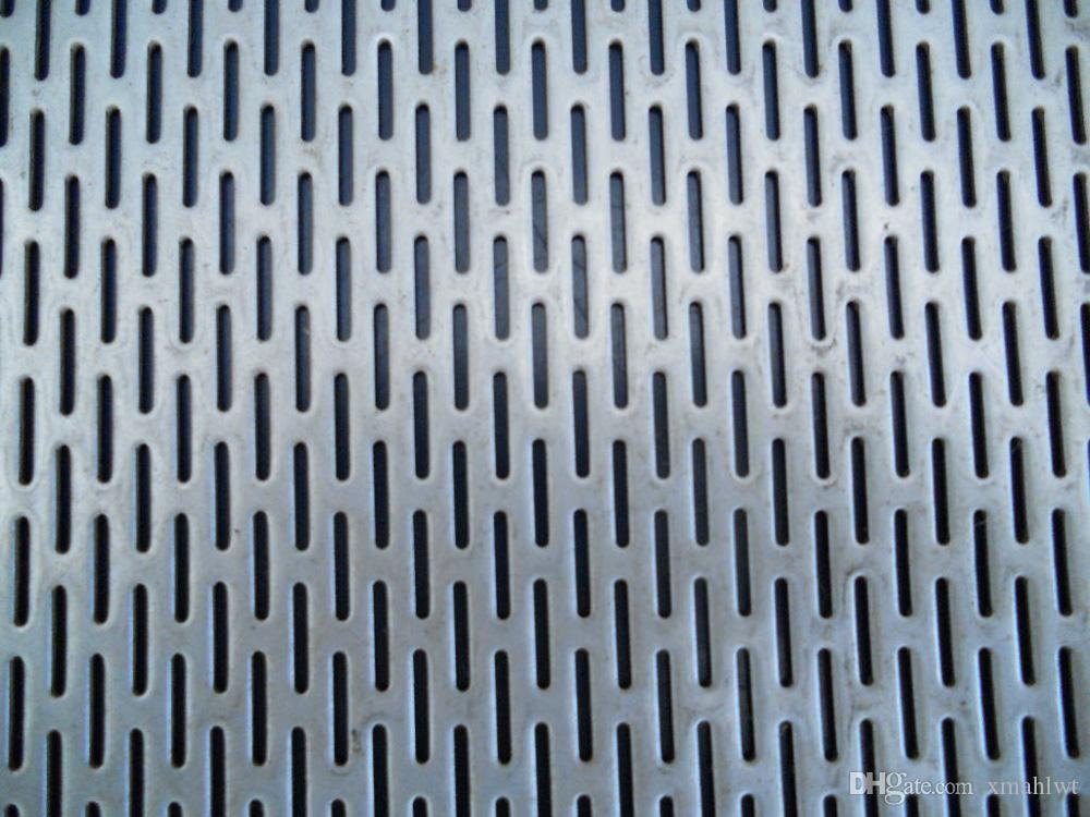 2018 Supplier Hot Sale Perforated Metal Mesh Plate Punching Wire ...