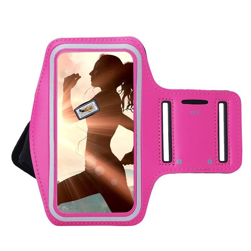 Cep Telefonu Kol Bankası Gym Koşu Spor Kol Bandı Kapak Samsung Galaxy A7 A710 A7 2016 A720 A7 2017 Ayarlanabilir Armband Koruyun Kılıf