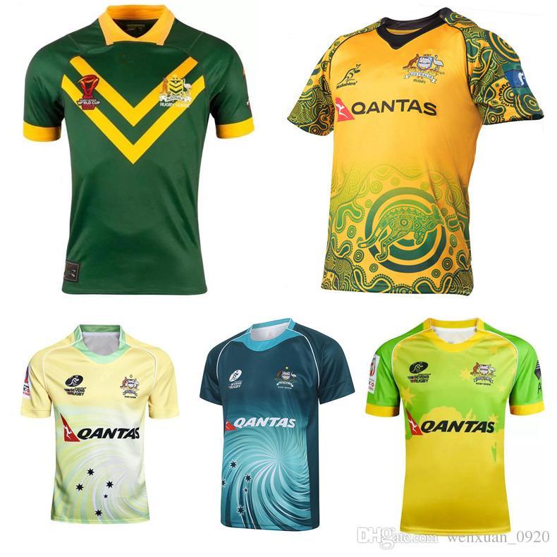 2017 WALLABIES INDIGENOUS Australian Rugby Jerseys RLWC 2017 ... 7187c00fd7ca0
