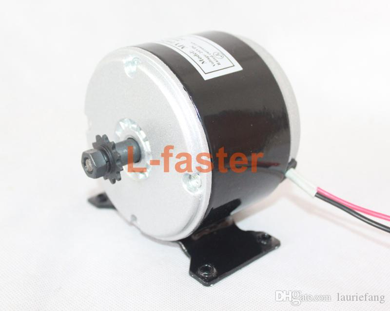 24V / 36V 250W / 350W Electric Mini Bike Motor Electric Scooter 350W Motor  High Speed Brushed MOTOR Use 25H Chain