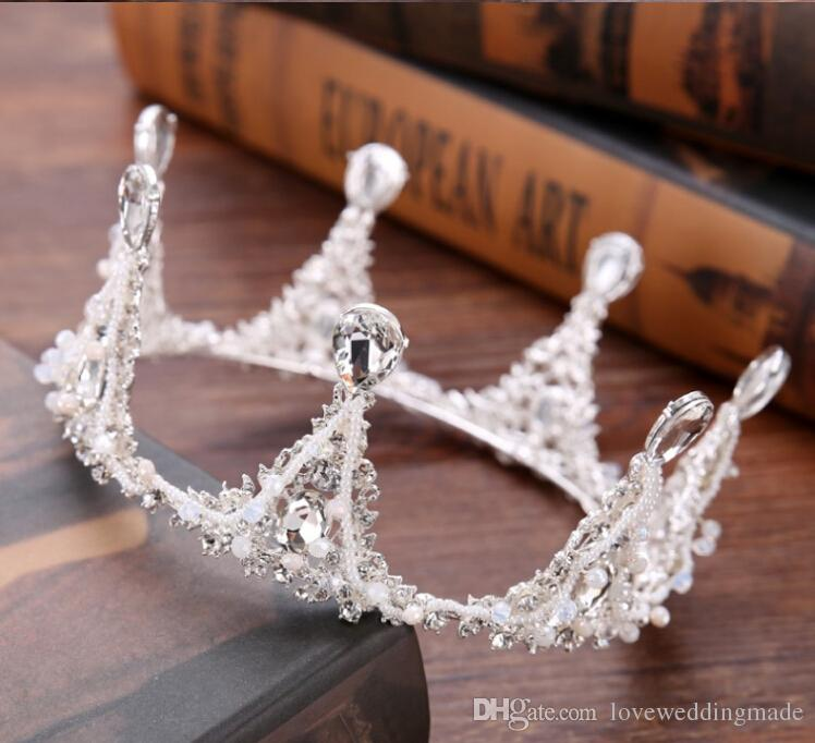 Bride wedding headdress high-end wedding accessories birthday gift decoration performance beauty queen crown evening party wedding