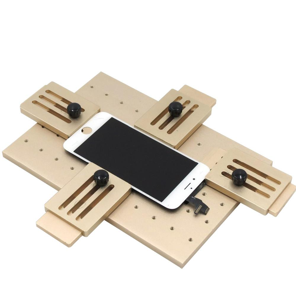 Cell Phone Lcd Screen Mold Jig Holder Clamp Tool For Oca