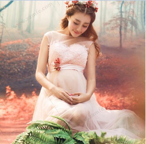 18d0e37266a74 2019 2017 New Maternity Photography Props Cotton Maternity Clothes Lace  Vestidos Fashion Pregnant Clothes Lace Crochet Maternity Dress From  Sunjie2005, ...