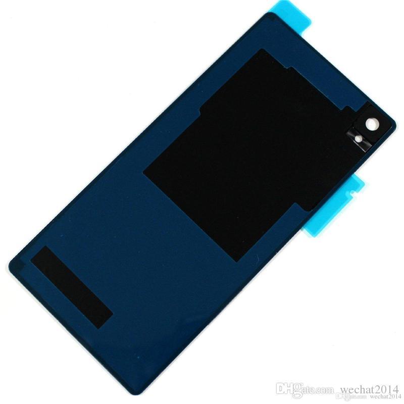 300 ADET Tam Pil Geri Konut Kapak Sony Z L36h Z1 L39h Kompakt Z2 D6502 Mini Z3 D5803 Mini Z4 Z5 Prim