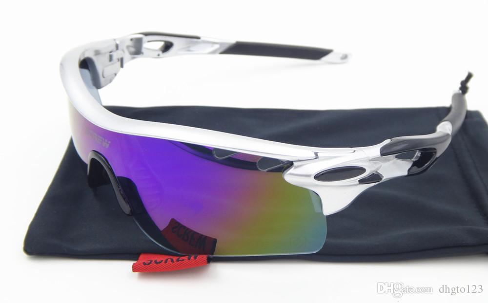 8fbb449f0f 2019 2017 Sale Radar Ev Men Polarized Cycling Glasses Bicycle Sport  Sunglasses 5 Lenses Box Oculos Bike Gafas Ciclismo E9206 From Dhgto123