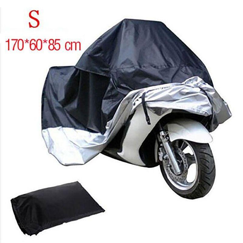 TKOSM S M L XL XXL XXXL impermeables al aire libre interior de la motocicleta Cruisers Street Sport Bikes cubierta UV moto de protección polvo de lluvia