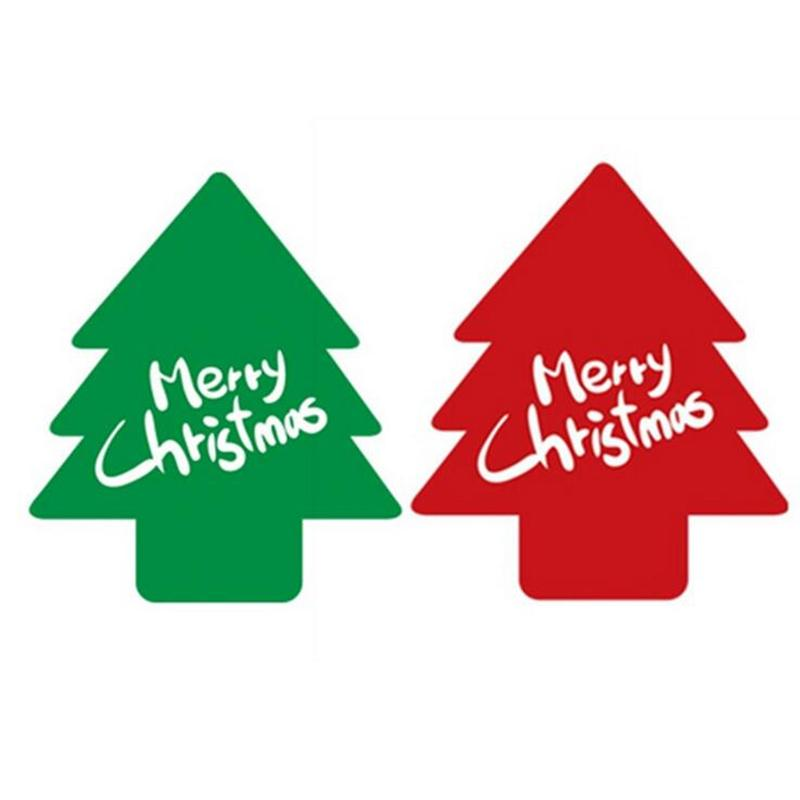 wholesale paper sticker new christmas label gift package sealing