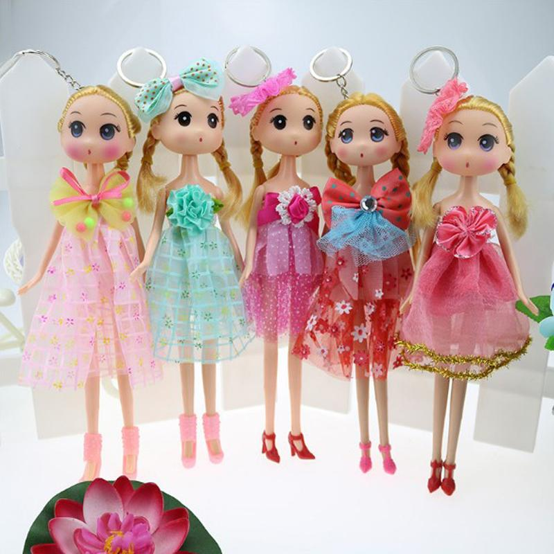 Multi Styles Hot selling Lace Wedding Design Dress Confused Doll 25cm Kids baby dolls Toy Brinquedo Girl