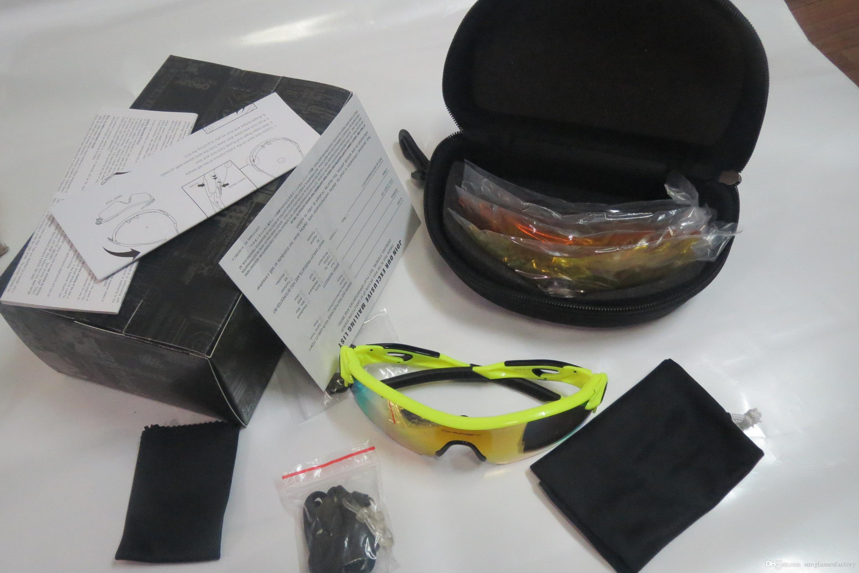 84f2cda8b2 Más Popular Gafas De Sol Negro Blanco Rojo Amarillo Marco Hombres Y Mujeres  Radarlockes Ciclismo Al Aire Libre Gafas De Sol Deportivas Envío Rápido Por  ...
