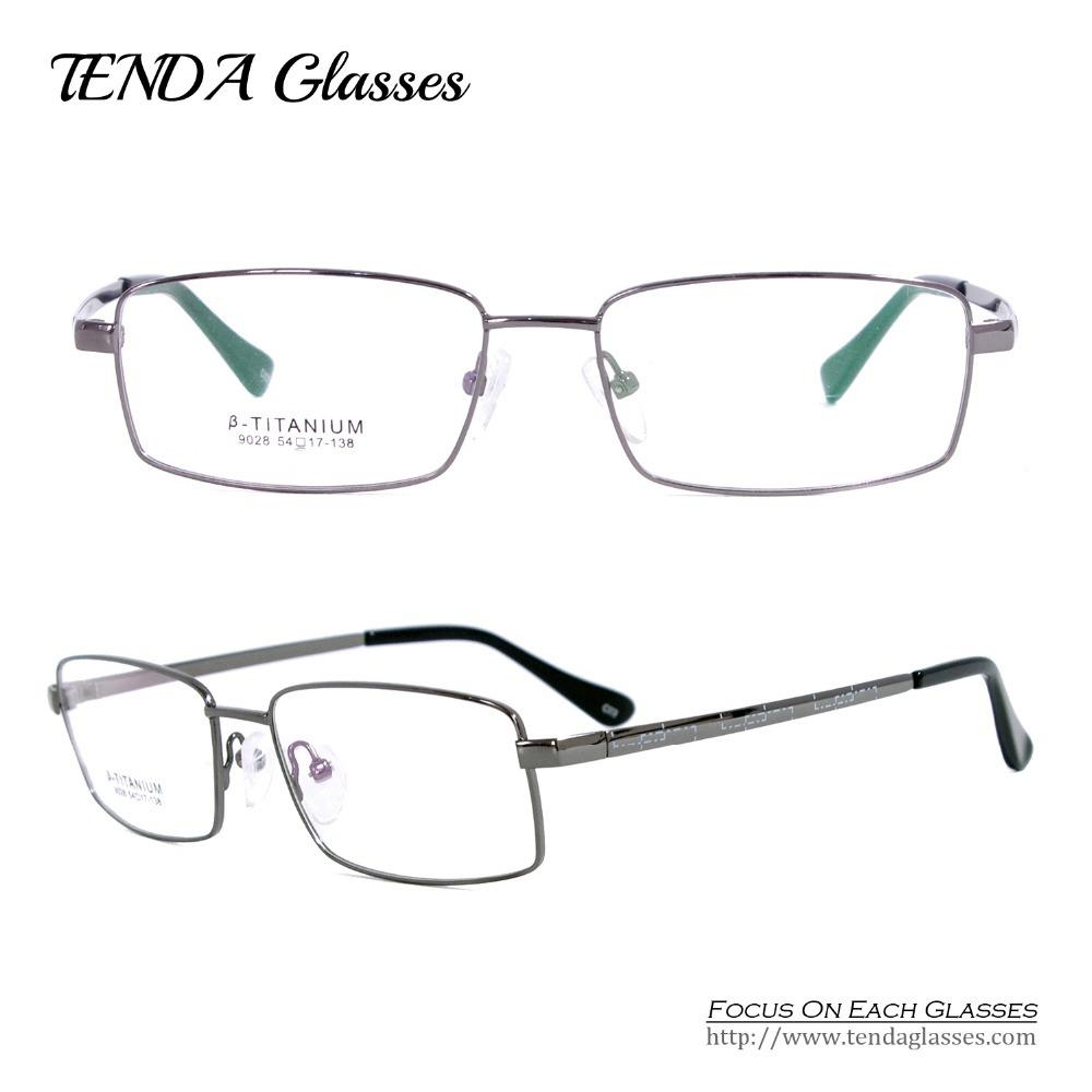 44a7507fe0a Wholesale- Business Men Full Rim Titanium Flexible Eyeglass Frames For  Reading Glasses Eyeglass Frames Rimless Eyeglass Rimless Frames Frame  Online with ...