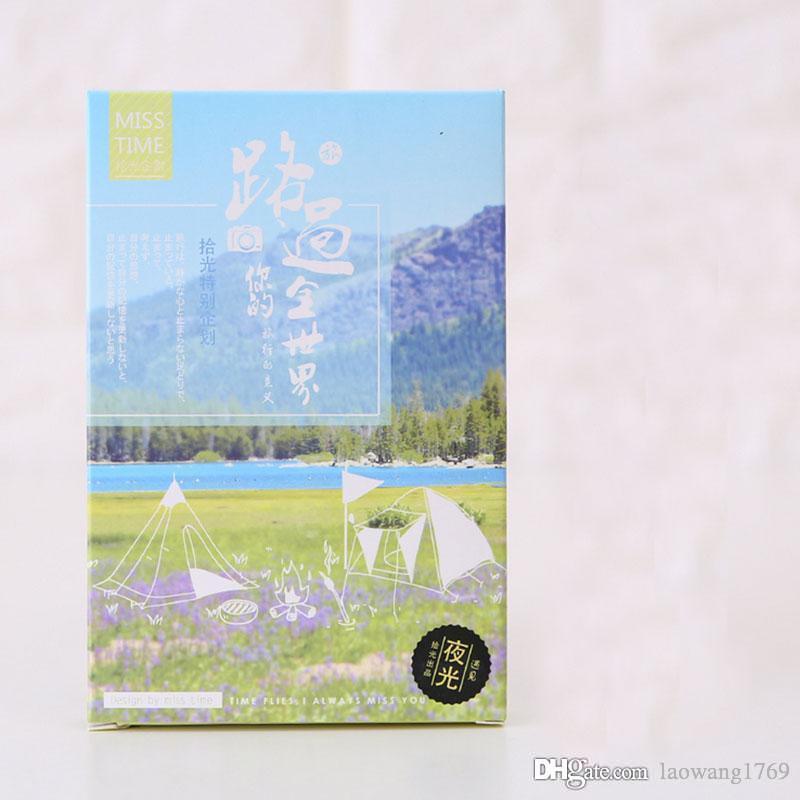 Großhandel 30 Teile / Schachtel Welt Reisen Natürliche Landschaft ...
