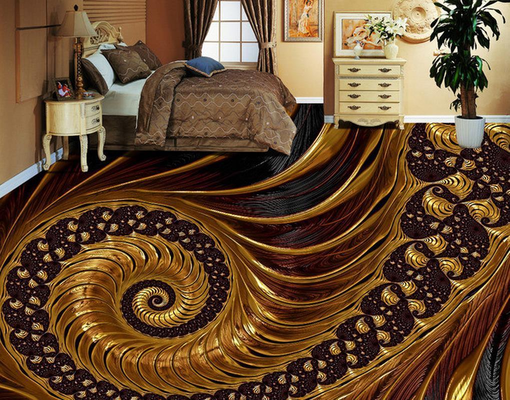 Fußboden Braun Zebra ~ Großhandel 3d bodenfliesen custom tapeten für wohnzimmer abstrakte
